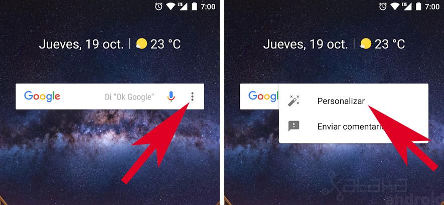 Widget Google