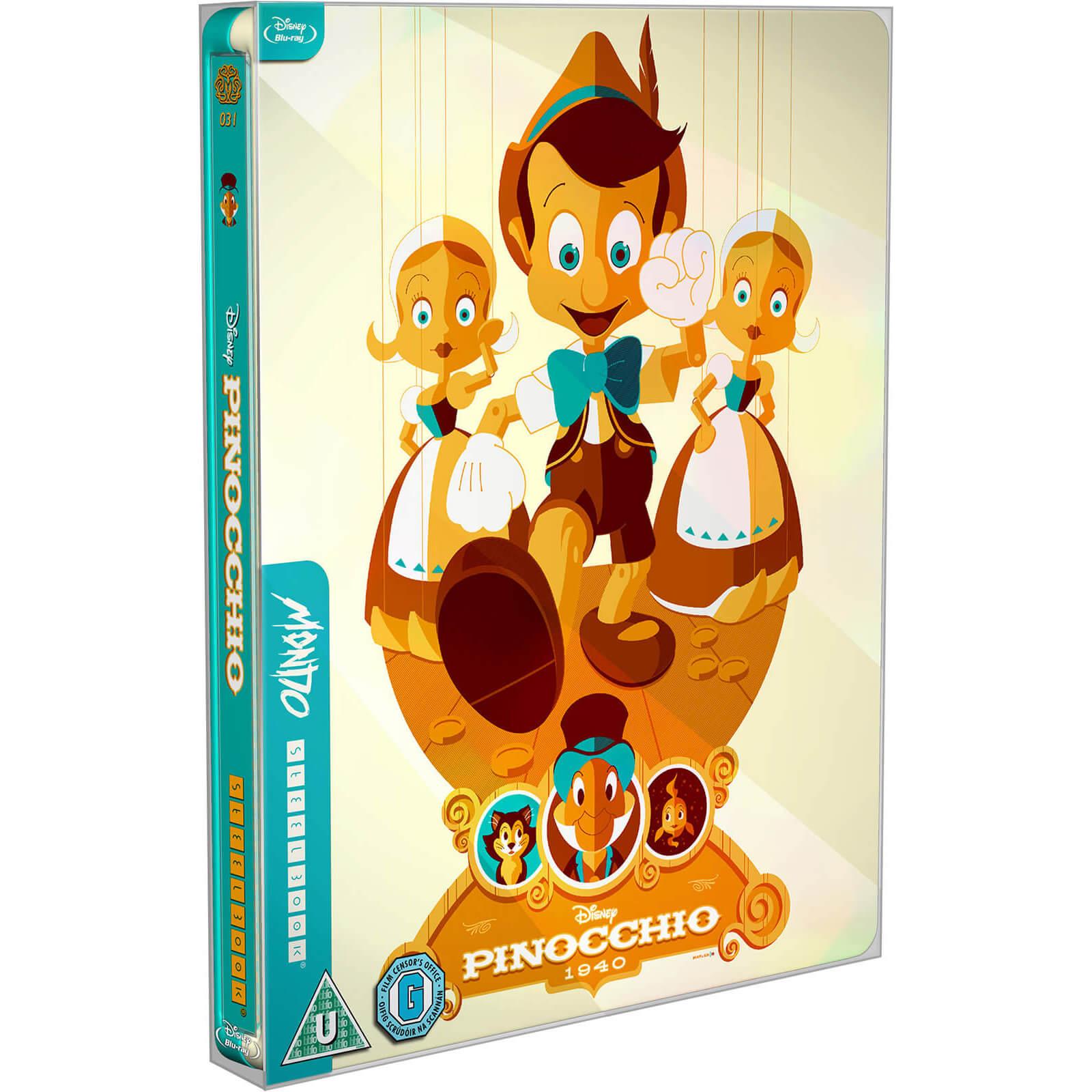 Steelbook de 'Pinocho'