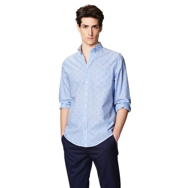 Camisa Gant Azules