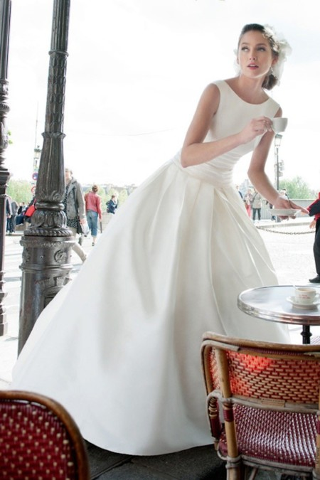vestido novia clásico de cymbeline