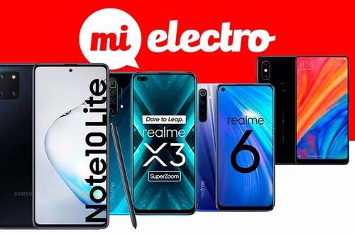 Estos smartphones de Samsung, Realme y Xiaomi están de oferta en MiElectro