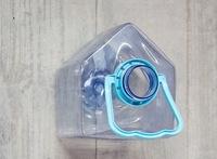 Recicladecoración: botellas de plástico convertidas en casas para pájaros