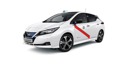 Nissan Leaf, taxi Madrid