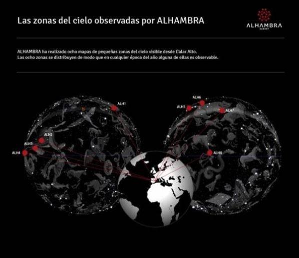 La Alhambra acoge la presentación del mayor atlas del universo