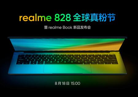 Realme fecha el lanzamiento de su primer portátil, el Realme Book, y adelanta que llegará con lo último de Intel