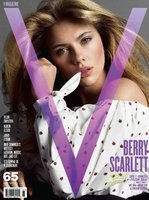 Scarlett Johansson muy sensual para V Magazine