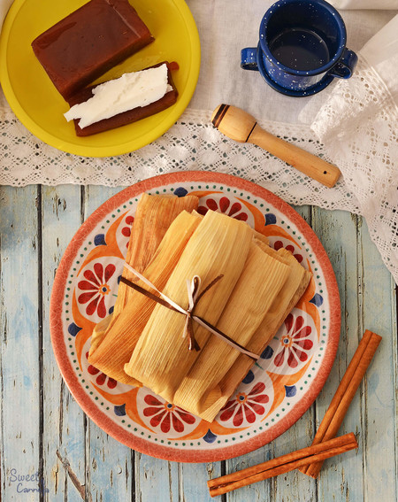 Tamales Membrillo