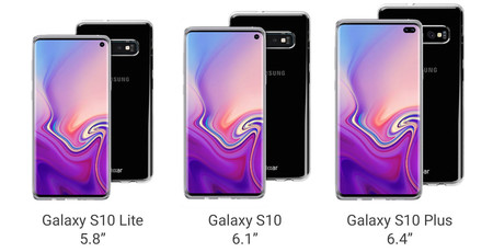 Samsung Galaxy S10 S10 Plus S10 Lite
