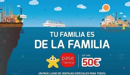 Te contamos las ventajas del Pase Familia de Trasmediterranea para viajes a las islas Baleares