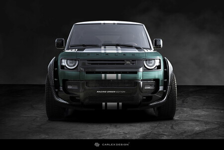 Land Rover Defender Racing Green by Carlex