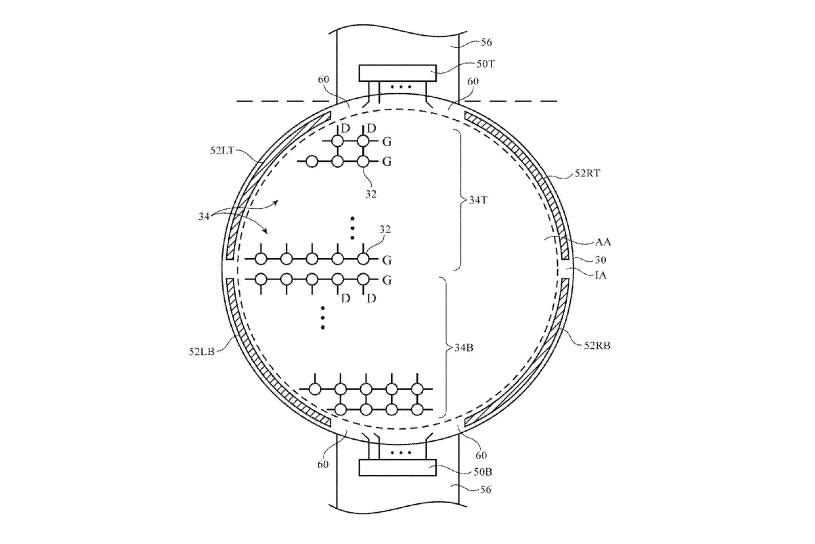 Round Apple Watch Patent