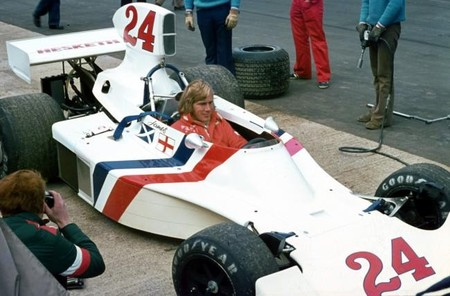 Hesketh 308-1 de James Hunt