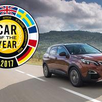 El Peugeot 3008 se corona como Coche del Año en Europa 2017, y es el primer SUV en conseguirlo