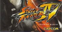 Así es el manual de 'Street Fighter IV'