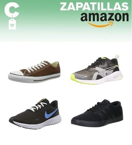 Chollos en tallas sueltas de zapatillas Adidas, Nike o Puma por menos de 40 euros en Amazon