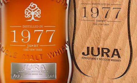 Jura presenta el whisky 1977 Vintage ju-ar, nueva edición limitada