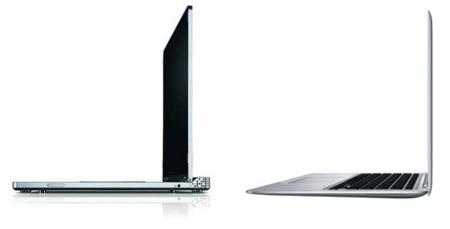 Dell Adamo frente a MacBook Air, comparativa
