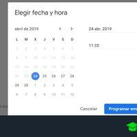 Cómo programar el envío de correos en Gmail