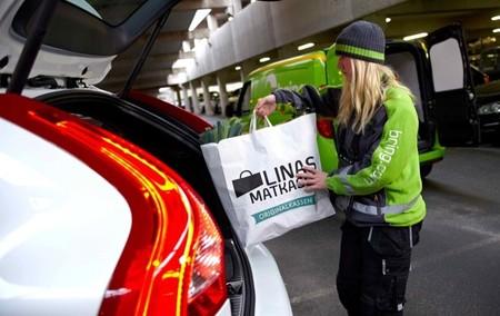 Volvo On Call permite la entrega de comida y envíos en el coche