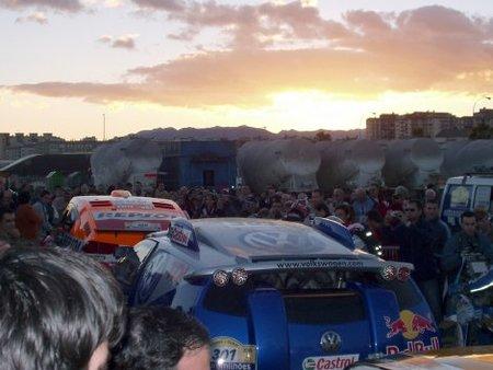 Dakar puerto de Málaga 2006