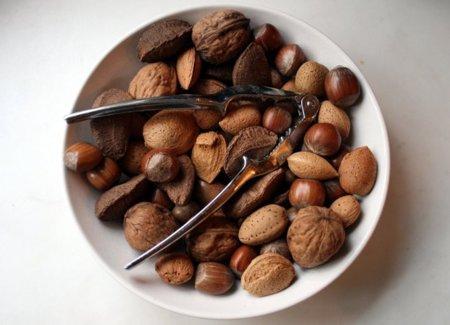 Análisis nutricional de diferentes frutos secos