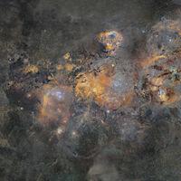 La Vía Láctea en una espectacular fotografía de casi dos Gigapíxeles que ha costado 12 años y 1.250 horas de exposición