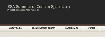 La ESA también tiene un Summer of Code... y todavía te puedes apuntar