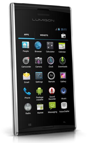 Lumigon T2, Android danés con sonido Bang & Olufsen