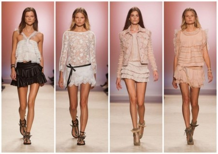 Isabel Marant minifaldas tendencias pv 2014