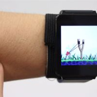 ¿Usar nuestra piel como superficie táctil para controlar un smartwatch?