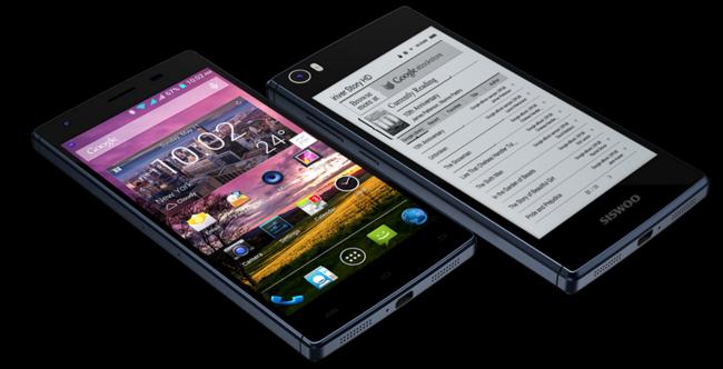 Siswoo R9 Darkmoon, estaba tardando en llegar la competencia china para el YotaPhone