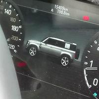 El futuro Land Rover Defender se deja ver al descubierto en su propio cuadro de instrumentos