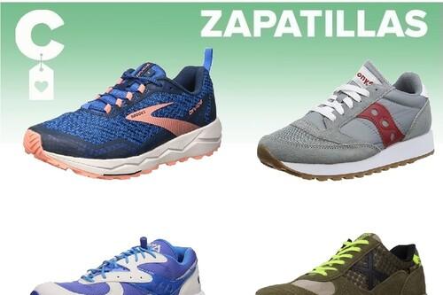 Chollos en tallas sueltas de zapatillas Munich, Saucony o Brooks en Amazon
