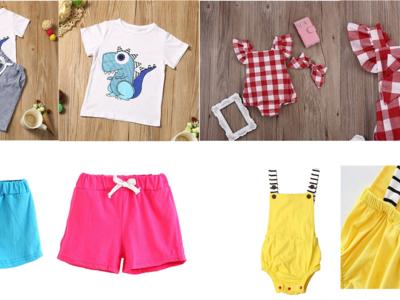 Amazon: 4 Ofertas en ropa para niños con muy buenos precios
