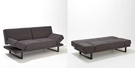 Sofa Cama Tejido Texturizado 3 Plazas New Vermont