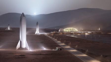 Elon Musk afirma que para construir la primera ciudad sostenible en Marte se necesitarán 1000 Starships y 20 años