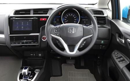 Interior Honda Fit 2014 Hybrid