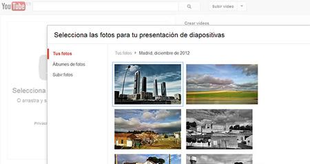 Utiliza YouTube para compartir y mostrar tus fotografías: Truco express