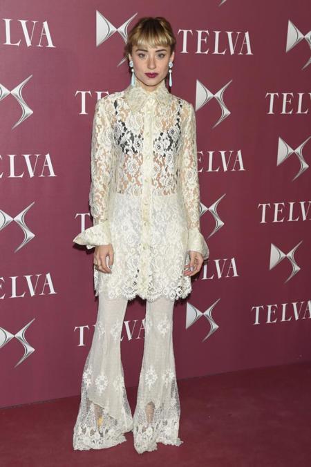 Miranda Makaroff en la gala de premios T de Telva 2014