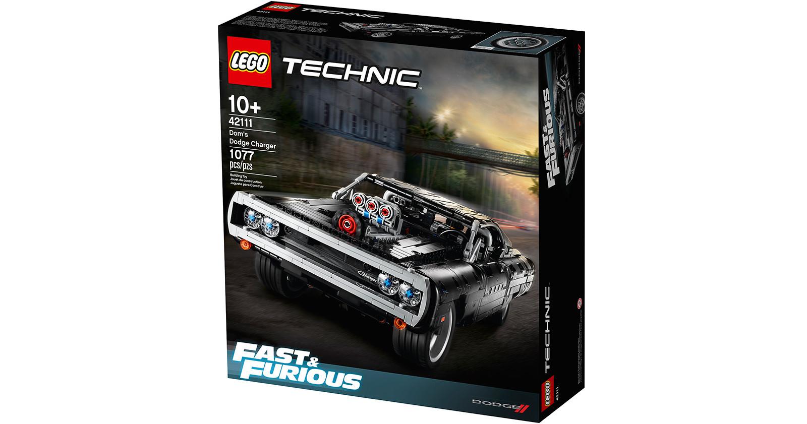 Foto de LEGO Technic Dom's Dodge Charger (16/18)