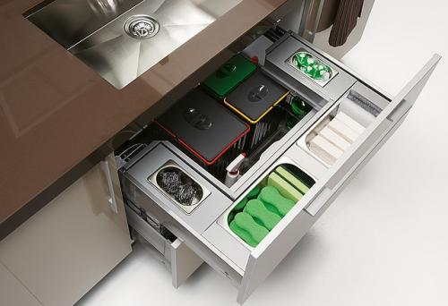 Cocinas peque as utensilios accesorios y complementos for Accesorios para organizar cocina