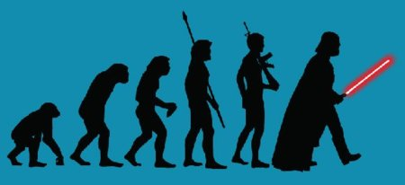 Camiseta The Evolution of the Force
