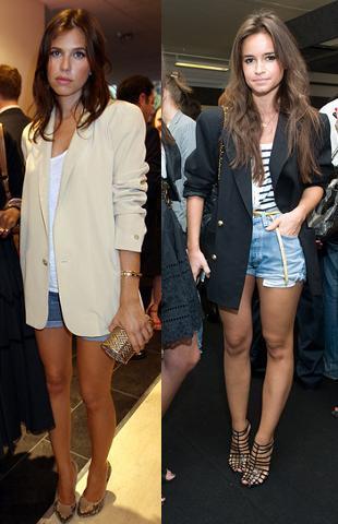 Las mujeres con estilo también llevan shorts