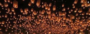 No pienses en cosas negativas, o el Festival de los Farolillos de Tailandia