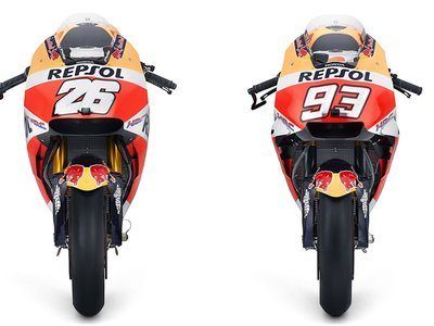 Aquí tienes las fotos de la RC213V y del equipo Repsol Honda para la temporada 2018 de MotoGP