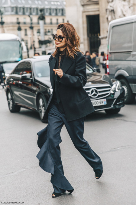 Pfw Paris Fashion Week Fall 2016 Street Style Collage Vintage Christine Centenera 8