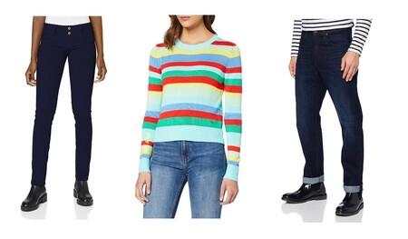 Chollos en tallas sueltas de camisetas, sudaderas o pantalones Superdry, Levi's o Pepe Jeans a la venta en Amazon