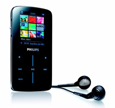 Philips SA9345, reproductor de música y vídeo