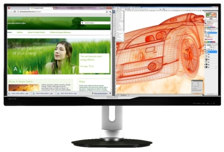 El monitor Philips Crystal clear con multivista apunta a 2013