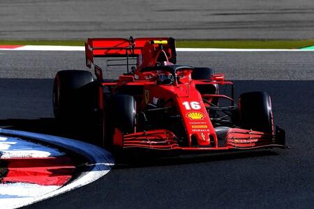 Leclerc Nurburgring F1 2020